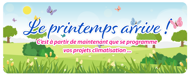 Climatisation-Printemps